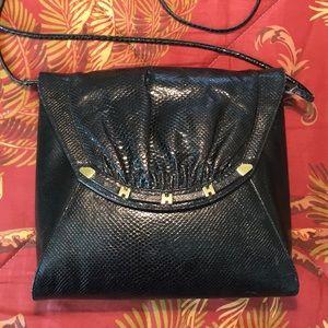 a70e6f203c 🌹FINESSE LA MODEL Black Patent Leather Crossbody!